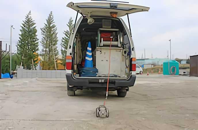小中口径管用テレビカメラ搭載車・・・1台